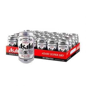 asahi beer 24 cans
