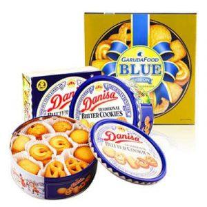 banh danisa banh blue cookies tet food