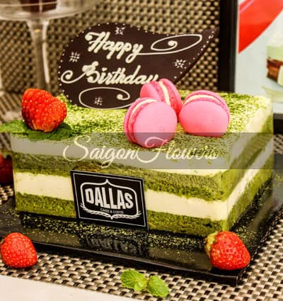 Superb Matcha Cake Delivery Cakes And Flowers To Vietnam Funny Birthday Cards Online Hetedamsfinfo