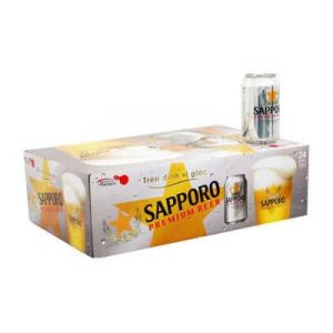 sapporo beer 24 cans