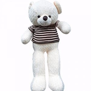 white-teddy-bear-1.4m-saigonflowers-gifts