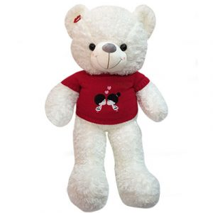 white teddy bear gifts 2