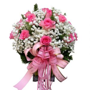 20-Pink-Roses-In-Vase-saigonflowers