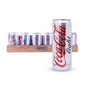 coca cola light thung 24 lon