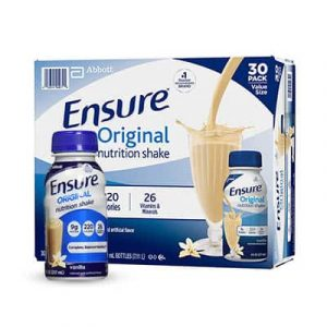 ensure milk vanilla 30bottles