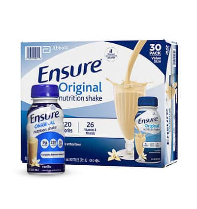 ensure milk vanilla 30bottles