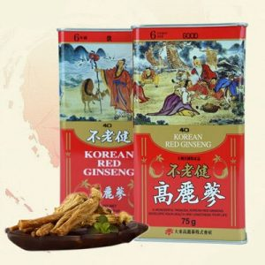 red ginseng root korea 6 years