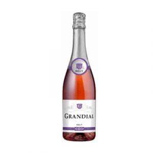 sparkling wine grandial rose