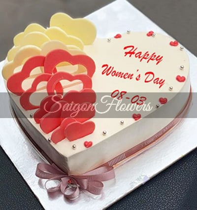 Awesome Cakes Women Day 5 Send Cakes To Vietnam Delivery Cake In Vietnam Funny Birthday Cards Online Fluifree Goldxyz