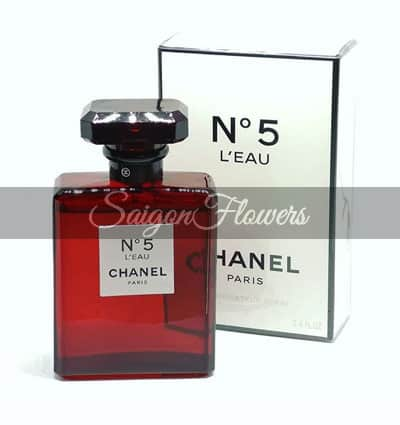Chanel n5 Red Edition