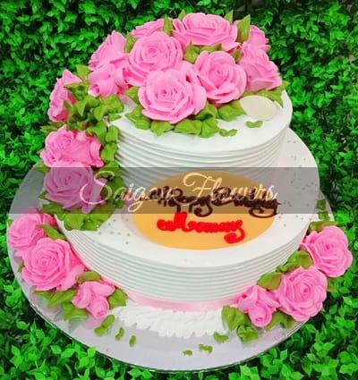 Tremendous Birthday Cake 42 Birthday Cakes Vietnam Cakes Vietnam Funny Birthday Cards Online Fluifree Goldxyz