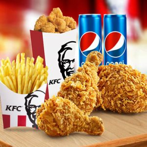 kfc combo for two c