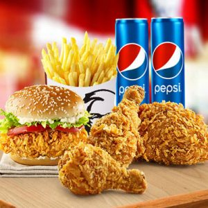 kfc combo for two e