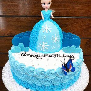 barbie cake 02