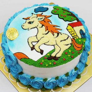 horse cake 01
