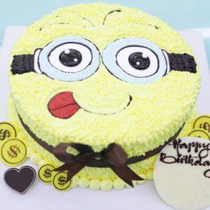 minion cake 01