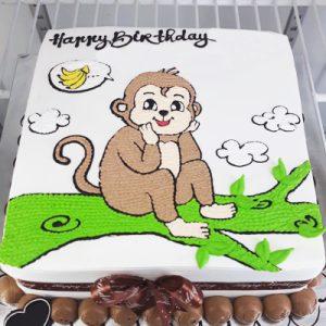 monkey cake 02