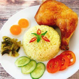 Chicken Fired Rice
