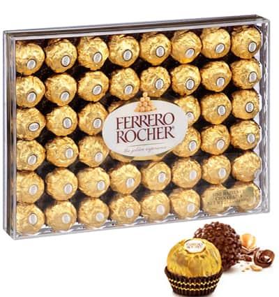 chocolate ferrero rocher 48
