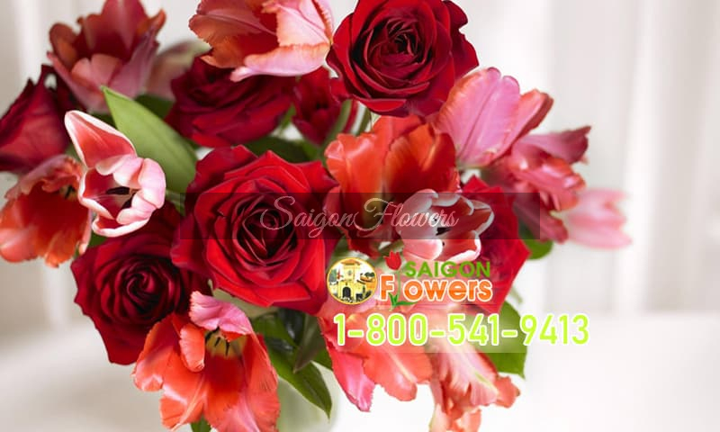 Send flowers to vietnam from usa