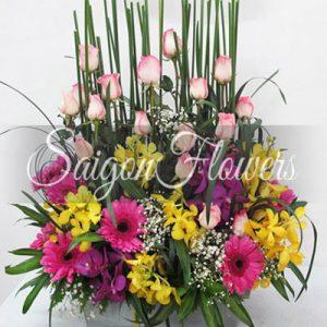 Vietnamese Teacher's Day Flowers 08