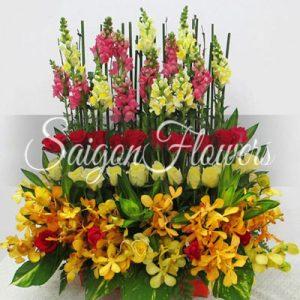Vietnamese Teacher's Day Flowers 09