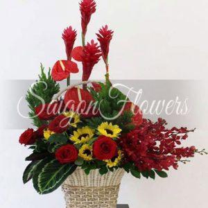 Vietnamese Teacher's Day Flowers 27