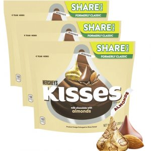 chocolate-hersheys-kisses-almonds-3-bags