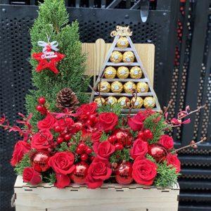 Christmas flowers sai gon vietnam