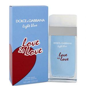 light blue love is love pour femme